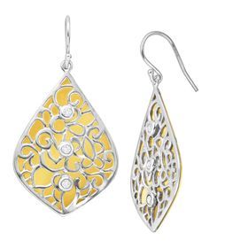 Resplendent Drop Earrings