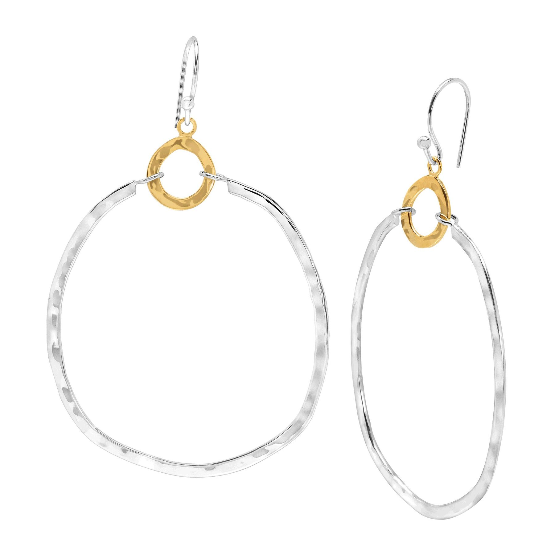 us drop s earrings filigree circular silver circle claire