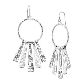 Nod to Mod Drop Earrings