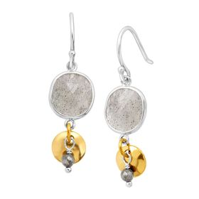 Stepping Stone Drop Earrings