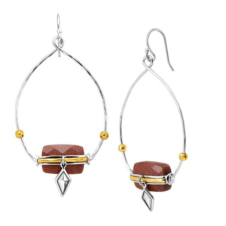 Warm Hues Drop Earrings
