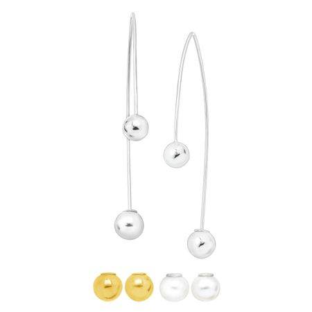 Convertible Elements Drop Earrings