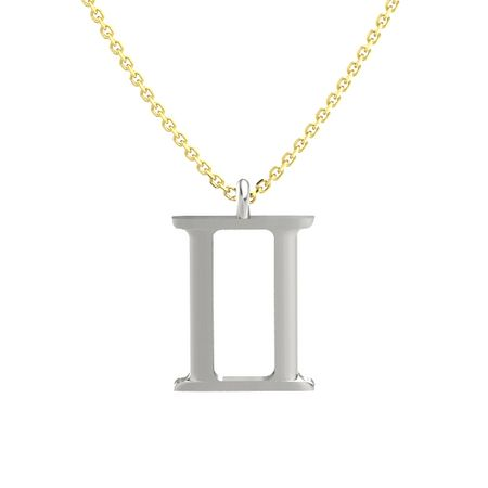 c i products gemini g pendant necklace p n