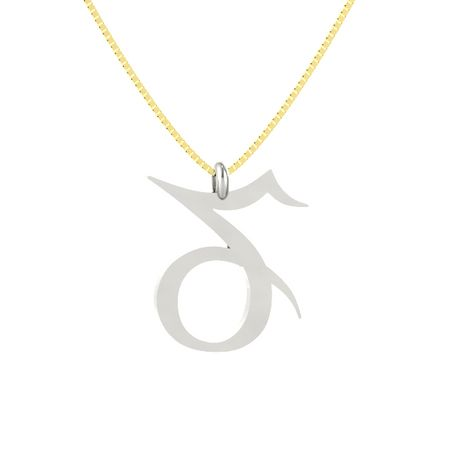pendant sn sign by necklace capricorn gb zodiac stilnest anna saccone en designer