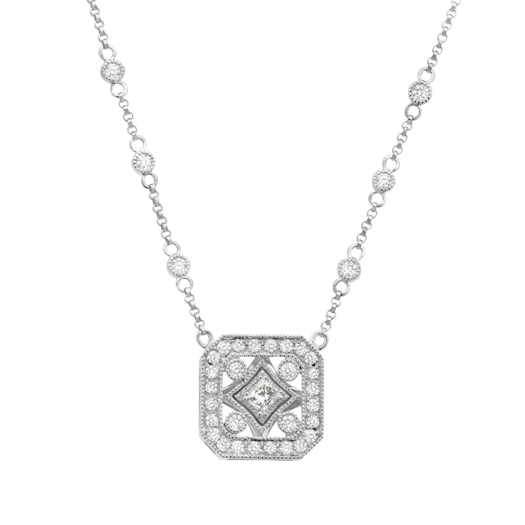 square company jewelers jeffrey and diamond diamonds product pendant with