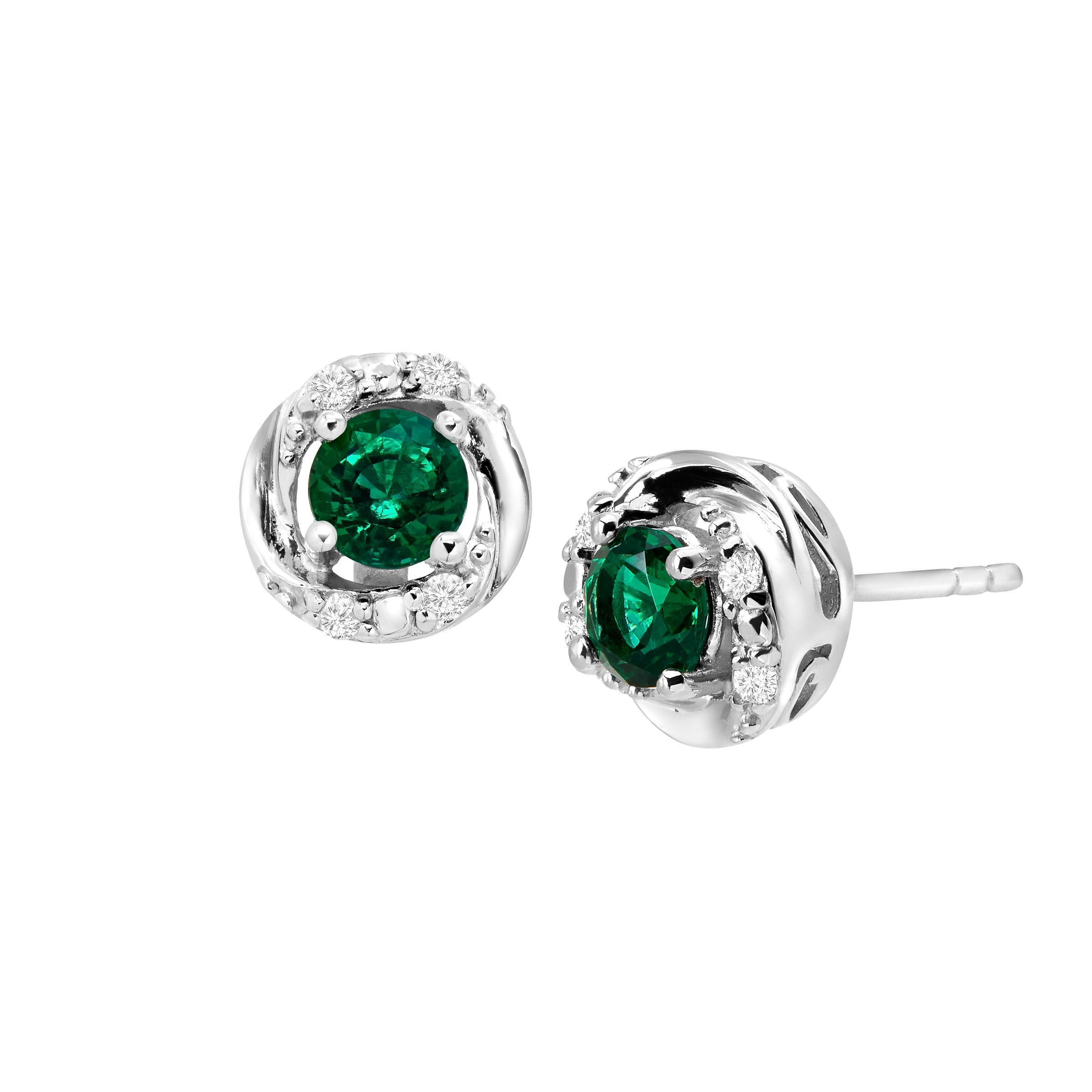 stud milanese sphera studs hudson sapphire earrings milano collections