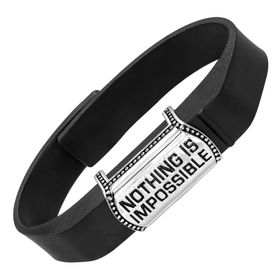 'Nothing Is Impossible' Fitness Band Accessory