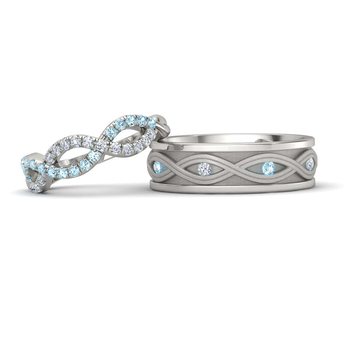 Matching Wedding Bands Gemvara